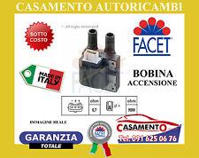 BOBINA ACCENSIONE FACET RENAULT CLIO II MEGANE KANGOO 9.6278