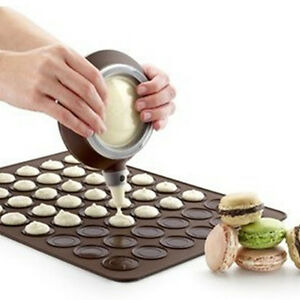 Silicone Baking Mat Large Double Sided Macaron Macaroon Dessert Mold Sheet ou