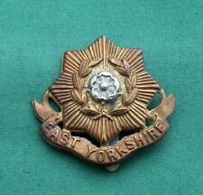 The East Yorkshire Regiment - ~ - 100% Genuine British Military Army Cap Badge..