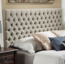 Cal King Headboard Oversized Upholstered Tall Only Master Bedroom Furniture Bed