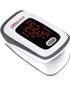Fingertip Pulse Oximeter, Blood Oxygen Saturation Monitor (SpO2) with Pulse Rate