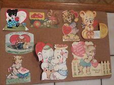 8 Vintage Valentine Cards