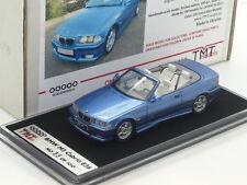 1:43 TMT Resin Handbuilt 1999 BMW M3 Evo E36 Convertible n Spark Looksmart BBR