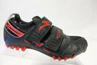 SPECIALIZED Comp Black/Red Sz 7.5 (40 EU) Men Cycling Shoes
