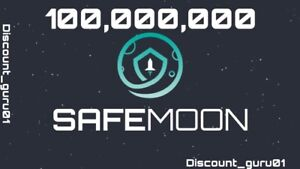 100 Million SAFEMOON - 🤑CHEAPEST🤑 Crypto Currency, INSTANT DELIVERY 📦