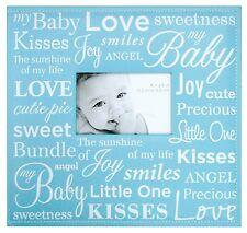 New Scrapbook Baby Photo Album 12x12 Inch Blue Boy Memory Kids Story Family Gift