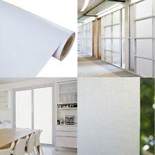 Satinierte Milchglasfolie Sichtschutz Bad, Küche 200cm x 122cm selbstklebend