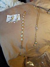 KIRKS Folly designer Fantasy Castle Earrings dangle stars bracelet necklace set