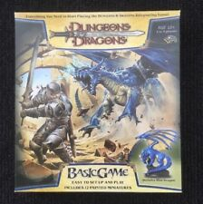Dungeons And Dragons Basic Game - 2006 Edition with RARE Blue Dragon Figure