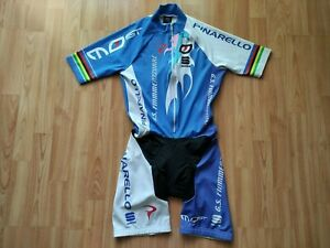 Pinarello Most G.S.Fiamme Azzurre Team Mens SS Cycling Skinsuit Sportful Size: M