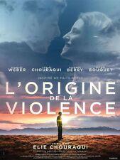 Affiche 40x60cm L'ORIGINE DE LA VIOLENCE 23016 Richard Berry, Weber EC