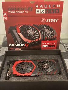 AMD MSI Radeon RX580 4gb GDDR5 Graphics Card(RADEONRX580GAMINGX4G)