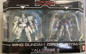 Bandai Arch Enemy Gundam Tallgeese & Wing Zero Custom Lot Action Figure MSIA 7.5