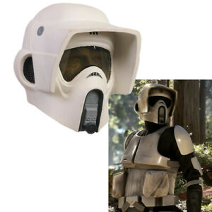 Xcoser SW Scout Trooper Helmet Cosplay Mask Movie 1:1 Scale Costume Prop For Men