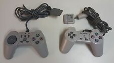 N) SONY PS1 Playstation Genuine Original Remote Controller High Frequency Set 2