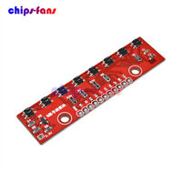 8-Channel Tracking Module Red 8-Bit Infrared Detection Sensor Module For Arduino