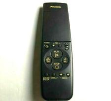 Panasonic VEQ1882 VCR Remote Control AG-1310 AG-1970 Pro Line Editing S-VHS