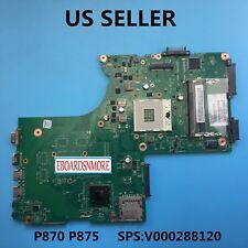 V000288120 Intel i3,I5 Motherboard Toshiba Satellite P870 P875 Laptop US Loc A