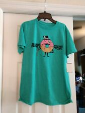 Ocean Current Large Always Fresh Donut Adult T-Shirt size L NWT