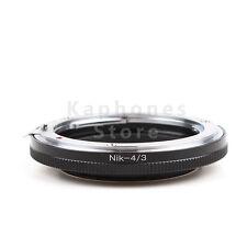 Camera Adapter For Nikon F Mount Lens to Olympus Four Thirds 4/3 E-5 E-7 E420