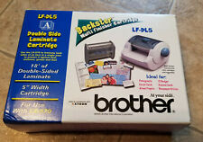 BROTHER Backster LF-DL5 Multi Finisher Cartridge Double Side Laminate New