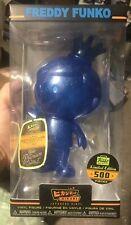 Funko Hikari Neon Blue Glitter Freddy Funko Vinyl Limited Edition 1/500