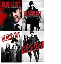 The Blacklist: The Complete Series Collection Seasons 1-4 DVD Season 1,2,3,4 NEW