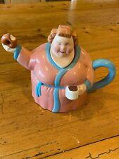 "Clay Art 1991 ""Morning Snacks"" Series Teapot"
