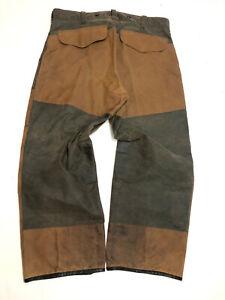 "FILSON OIL FINISH DOUBLE TIN CLOTH PANTS Two Tone W 36.5"""