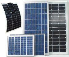 5w 20w 30w 50w 80w 100w 130w PV Solar Panel for 12v 24v battery system UK stock