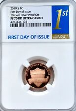 More details for 2019 s lincoln cent ngc pf70 proof ultra cameo 1c united states mint