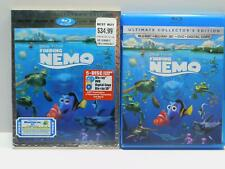 Finding Nemo (Blu-ray/DVD, 2012, 5-Disc Set, Includes Digital Copy 3D) slipcover