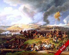 BATTLE OF BORODINO PAINTING NAPOLEON VICTORY OVER RUSSIA ART REAL CANVASPRINT