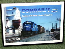"n020 TRAIN VIDEO DVD ""CONRAIL'S LAKE SHORE LINE"" VOL. 2"