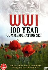 WW1 100 YEAR COMMEMORATION 4 DVD SET INCREDIBLE STORIES OF COURAGE FROM WWi