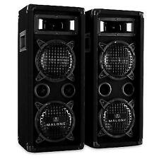 Passive Speaker PA DJ Disco Stage Club Party Pair Professional 3-way 2x 600w