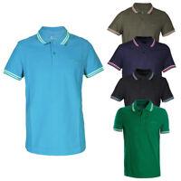 Polo Uomo LOTTO Sport Cotone Colletto Righe Maniche Corte T-Shirt Vari Colori