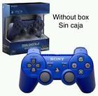 Mando PS3-SONY logo DualShock 3 Sixaxis NUEVO ✸Color Azul Blue✸ NO BOX Sin Caja
