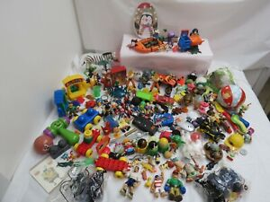 178 PIECES HUGE LOT OF MIXED BOY TOYS ACTION FIGURES TV CHARACTER TOYS VEHICLES