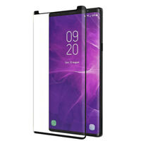 Galaxy Note 9 Case-Friendly Real tempered Glass Screen Protector for Samsung