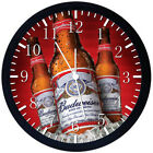 Beer Black Frame Wall Clock Nice For Decor or Gifts Y86