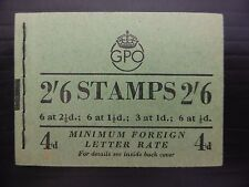 GB 1952 MAY G.VI - 2/6 Booklet SGBD20 SEE BELOW FP9406