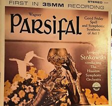 LP-LEOPOLD STOKOWSKI-Parsifal-WAGNER-1959 NM Everest Stereo