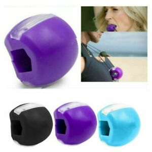NEW Jaw Exerciser Neck Toning Facial Toner Face Muscle Fitness Anti-Age Lifting