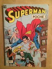 SUPERMAN POCHE (Sagedition) - T41 : janvier 1981