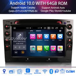 Octa core android 10.0 radio dab + carplay dsp bluetooth for renault megane