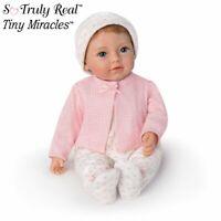 "Ashton Drake Tiny Miracles Little Ellie Lifelike 10"" Toy Doll NEW So Truly Real"