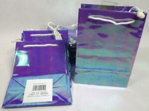Lot of 24 Gift Wedding Party Favor Bags Purple Goody Birthday Shower Bag A-11