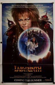 Labyrinth Teaser US original One Sheet movie poster