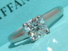 TIFFANY & CO. LUCIDA .86 DIAMOND ENGAGEMENT PLATINUM PT950 RING VS2 I